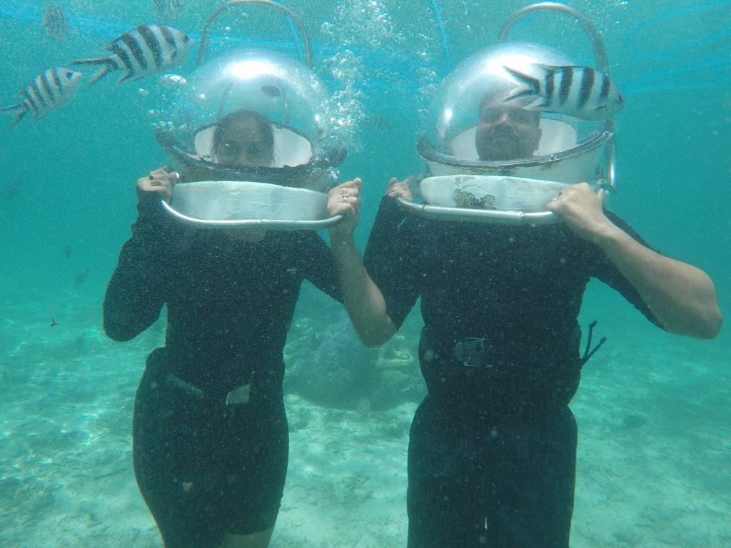 Underwater Sea Walk