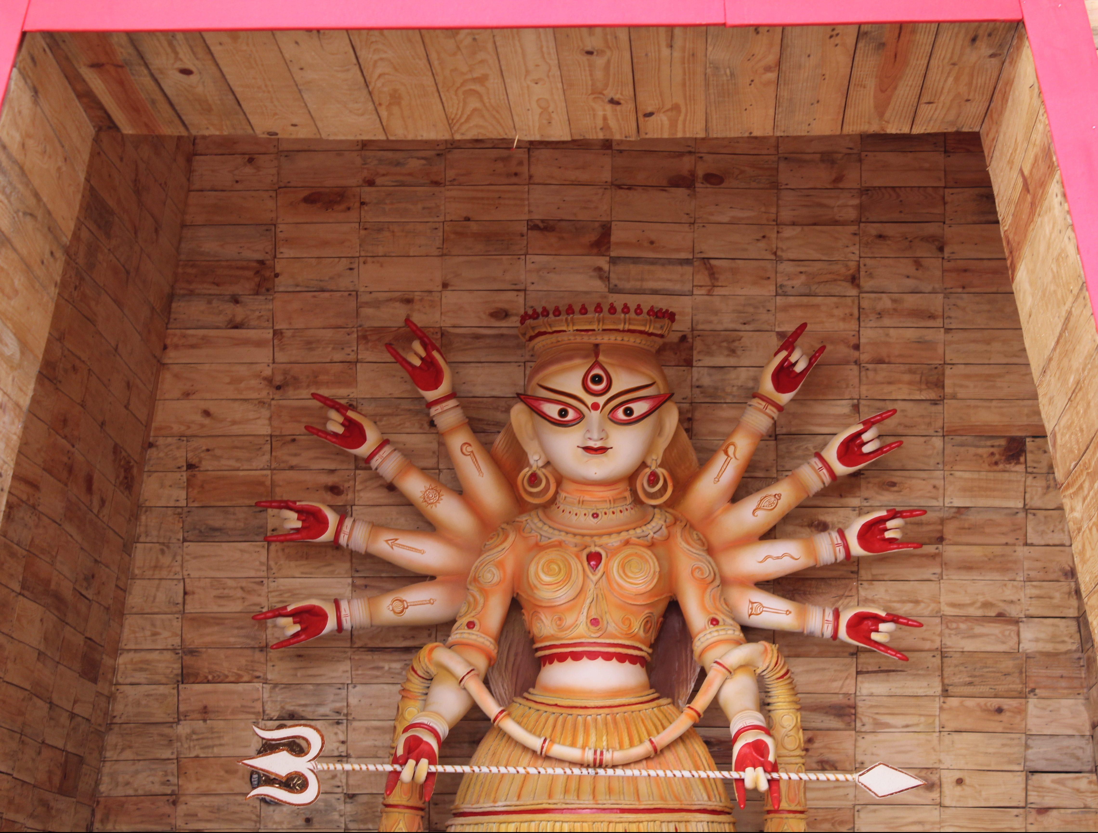 Durga idol of 209