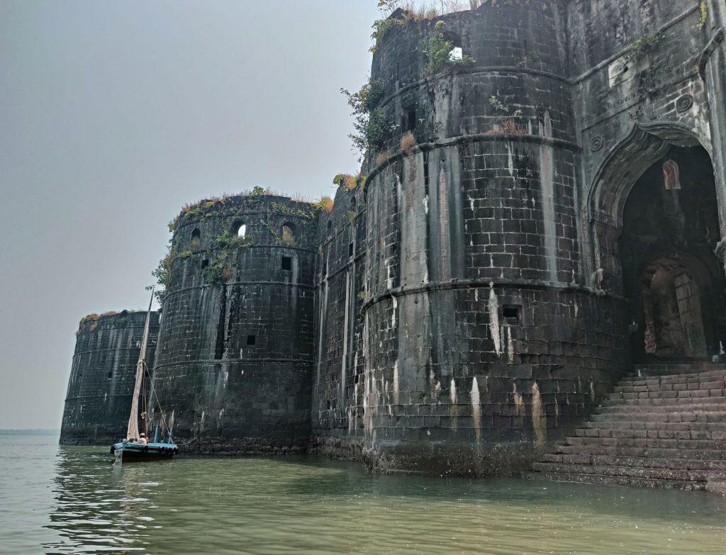 Entrance of Murud Janjira Fort
