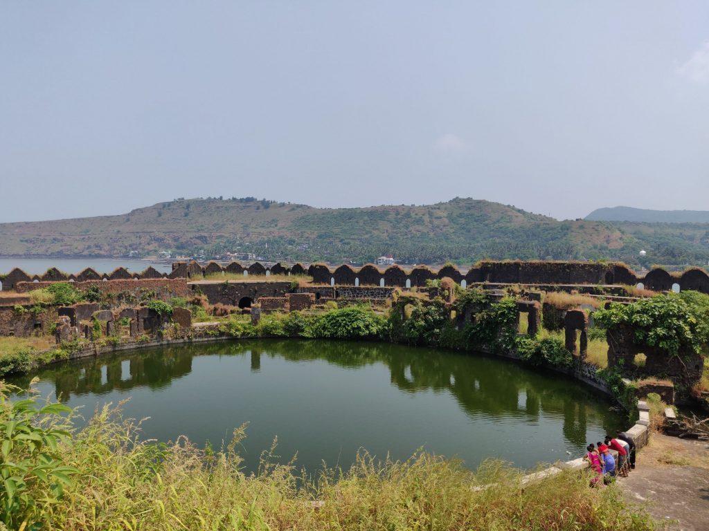 Sweet water pond in Murud Janjira