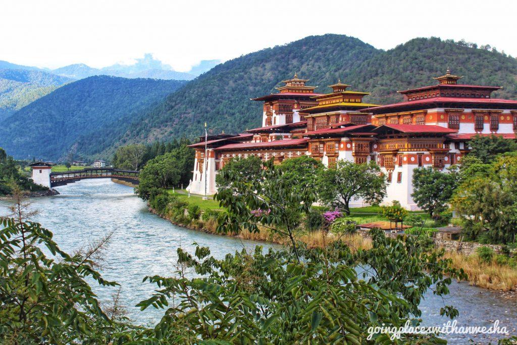The Pungthang Dewachen Phodrang Dzong, Punakha