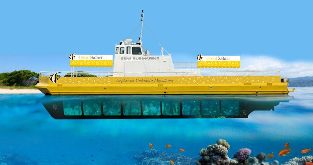Coral Safari submarine ride